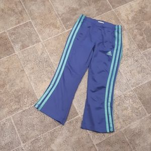 Adidas girl's size 5 track pants